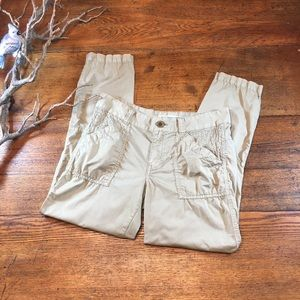 Madewell campstitch slouch fatigue pants